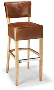 bar stools uk genova tan aniline
