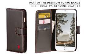 torro premium leather wallet case