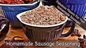 how to make sausage seasoning add