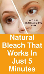 Natural bleach that works in just 5 minutes   Natural bleach, Skin  lightening diy, Skin bleaching