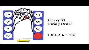 chevy v8 firing order you