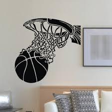 Shop Basketball Dunk Vinyl Wall Art Decal Sticker Overstock 10578099