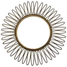 mid century vintage italian gilt metal