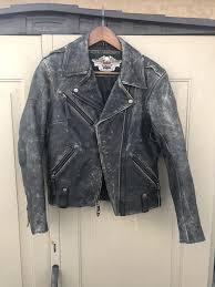 black leather valor jacket