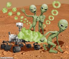 Image result for Martian microbe funny