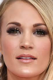 carrie underwood smokey eye makeup