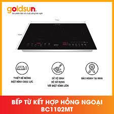Bếp Từ Hồng Ngoại Đôi Chất Lượng Cao Goldsun BC1102MT
