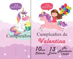 Invitaciones De Cumpleanos De Ensueno Editables 10 00 En