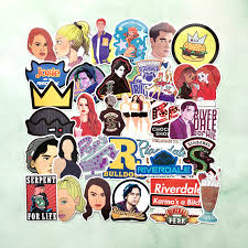 Riverdale Stickers 25 Pce Skate Laptop Pc Car Decal South Side Serpents Tv Show