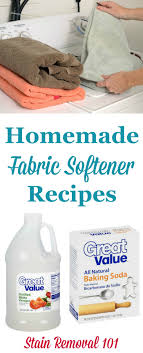 homemade fabric softener recipes