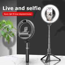 Chân Máy Ảnh Selfie Có Đèn Led Kết Nối Bluetooth Điều Khiển Từ Xa giảm chỉ  còn 407,540 đ