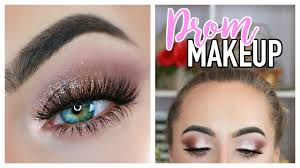 prom makeup tutorial for brown eyes