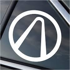 Amazon Com Borderlands Vault Decal Sticker White Cars Laptops Windows Automotive