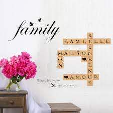 Winston Porter Word Puzzles Family Birds Quote Wall Decal Wayfair