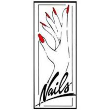 Salon Window Decal Nails 20 X 48 Each