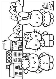 Kids N Fun Kleurplaat Hello Kitty Kitty En Haar Vriendjes