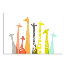 viv rae giraffes graphic art print