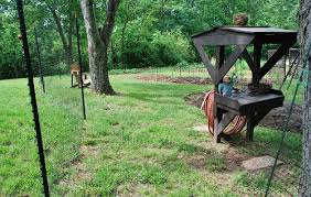 Building A Deer Fence Phase V Garden Gate Spy Garden