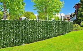 94 5x39 4in Artificial Hedges Fence And Faux Ivy Vine Leaf Decoration For Outdoor Decor Garden