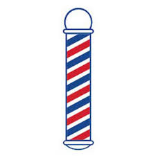 Scalpmaster Barber Pole Cling Decal Appleton Barber Supply