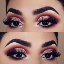 makeup ideas dark brown eyes cat eye