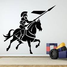Medieval Knight Wall Stickers For Living Room Decoration For Home Art Decor Wall Decals Bedroom Boys Wall Sticker Wall Decor Decal Wall Decor Decals From Onlinegame 11 94 Dhgate Com