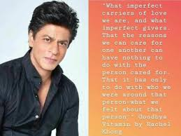 pic shah rukh khan shares some words of wisdom in his latest post