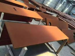 China Corten Steel Plate For Weldable Corten Steel Fence Weathering Steel Manufacturers Suppliers Distributor Factory Direct Price Gnee