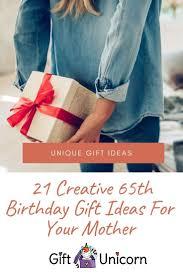 21 creative 65th birthday gift ideas