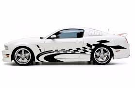 Product Racing Checkered Graphic Stripe Decal Car Van Truck Vehicle Suv Ford Mustang