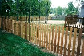 Wood Picket Fence Pioneer Fence Supply