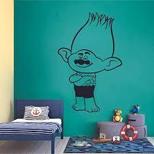 Amazon Com Branch Troll Trolls Movie Cartoon Character Kids Wall Sticker Art Decal For Girls Boys Kids Room Bedroom Nursery Kindergarten House Fun Home Decor Stickers Wall Art Vinyl Decoration Size 10x6 Inch