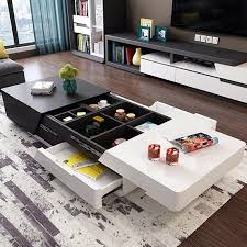 modern chic 51 extendable coffee table