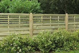 1 8m X 1 2m Pressure Treated Decorative Kyoto Fence Panel Forest Garden