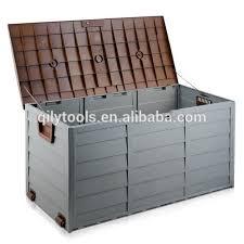 storage plastic cushion box green grey