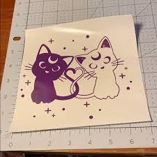Hot Topic Wall Art 16 For 18 Sailor Moon Vinyl Decal Poshmark