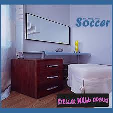 Eat Sleep Play Soccer Wall Quote Mural Decal Swd