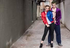harley quinn and joker couple costume