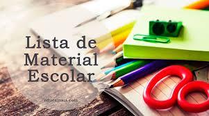 Lista de Material Escolar - Educamais