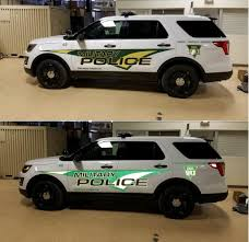 Install Reflective Military Police Decals For Detroitarsenal Ford Police Police Decal Police Cars