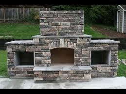 diy building an outdoor fireplace