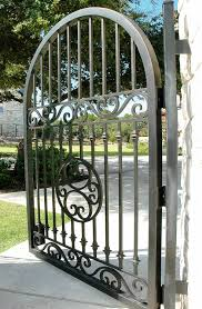 Metal Gates Garden Gate Wrought Iron Fence Doors Aliexpress