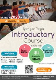 iyengar yoga introductory course