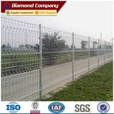 Double Loop Welded Wire Fence Diamond Wire Netting Finished Products Company