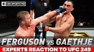 UFC 249 Expert Reactions: Gaethje TKO's ...
