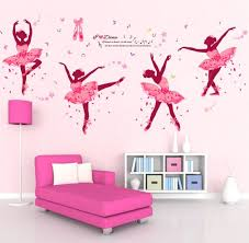 removable vinyl ballet girl wall decals