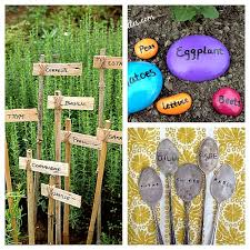 plant marker ideas for your garden