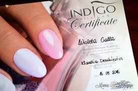 Manicure Hybrydowy Szkolenie Indigo Nails Lodz Mama Bloguje