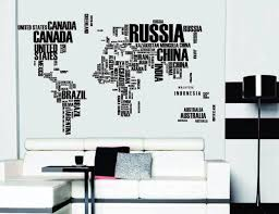 A Man Travels The World Over Wall Sticker Famous Motto Eiffel Independence