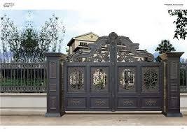 Home Aluminium Gate Design Steel Sliding Gate Aluminum Fence Gate Designs Hc Ag27 Doors Aliexpress